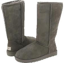 Ugg Wms Classic Tall Gry